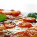 ミニトマトツナピザ